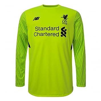 8ef6862e0f6 L.F.C Liverpool Kids Replica Third L S Goalkeeper Shirt 17 18 Small Boys 6