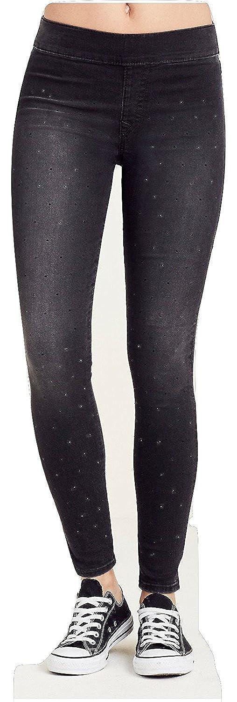 True Religion Women's Starlet Legging Super Skinny Leg Pants in Black Years Away