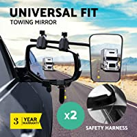 Towing Mirrors Blind Spot Caravan Car Side Mirror
