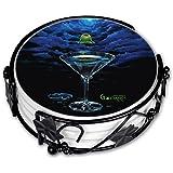 "Art Plates ""Michael Godard Zen Martini ""Drink Coaster Set"