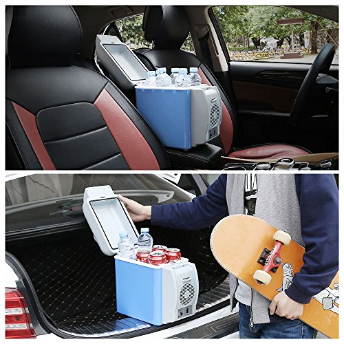 BISOZER Portable 7.5L Mini 12V Car Refrigerator Freezer Dual-Use Home Travel Vehicular Car Fridge Dual-Mode Temperature Control Dual-use by BISOZER (Image #5)