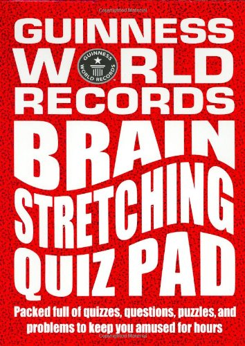 Guinness World Records: Brain Stretching Quiz Pad