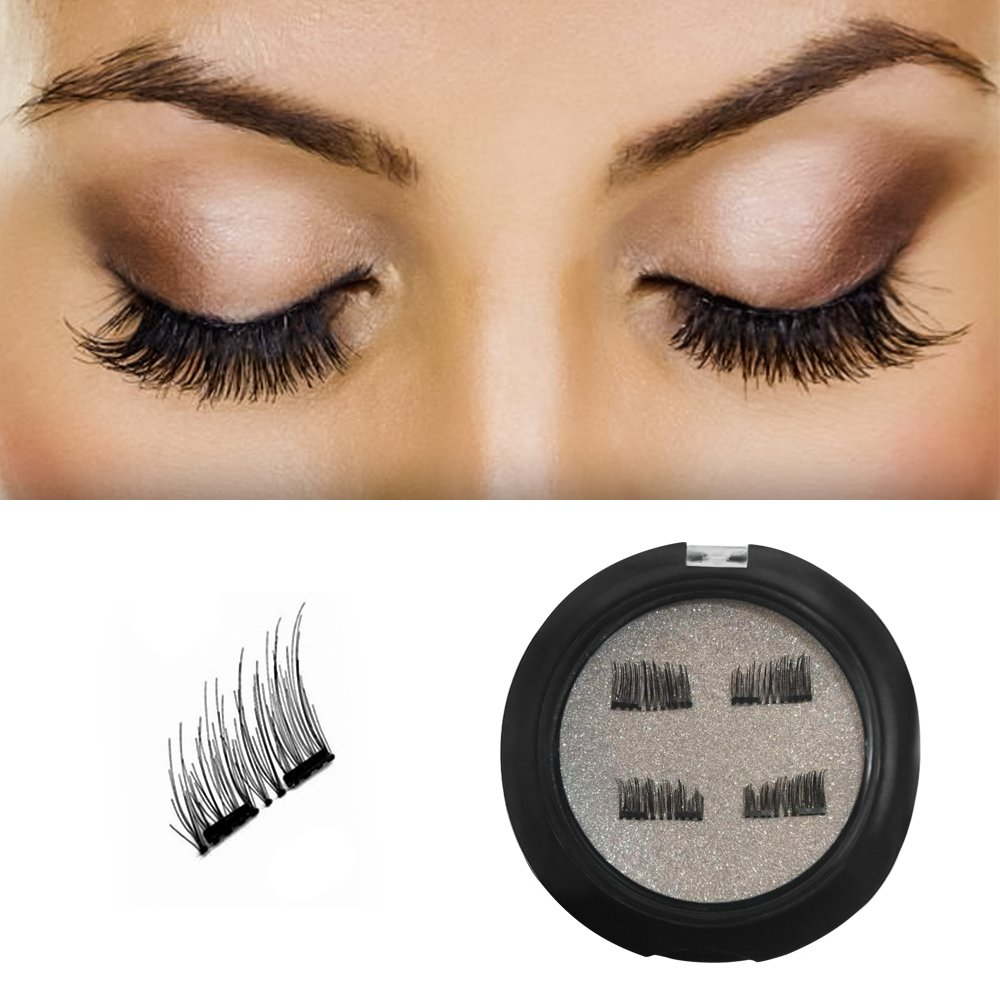 Amazon Fortune Magnetic Eyelashes Easy To Apply Dual Magnetic