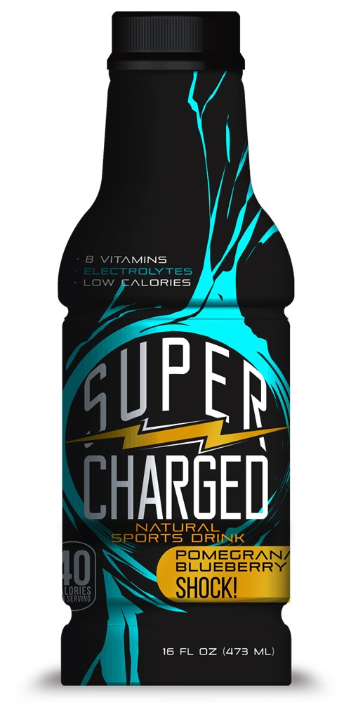 Amazon Com Supercharged Natural Energy Drink Raspberry