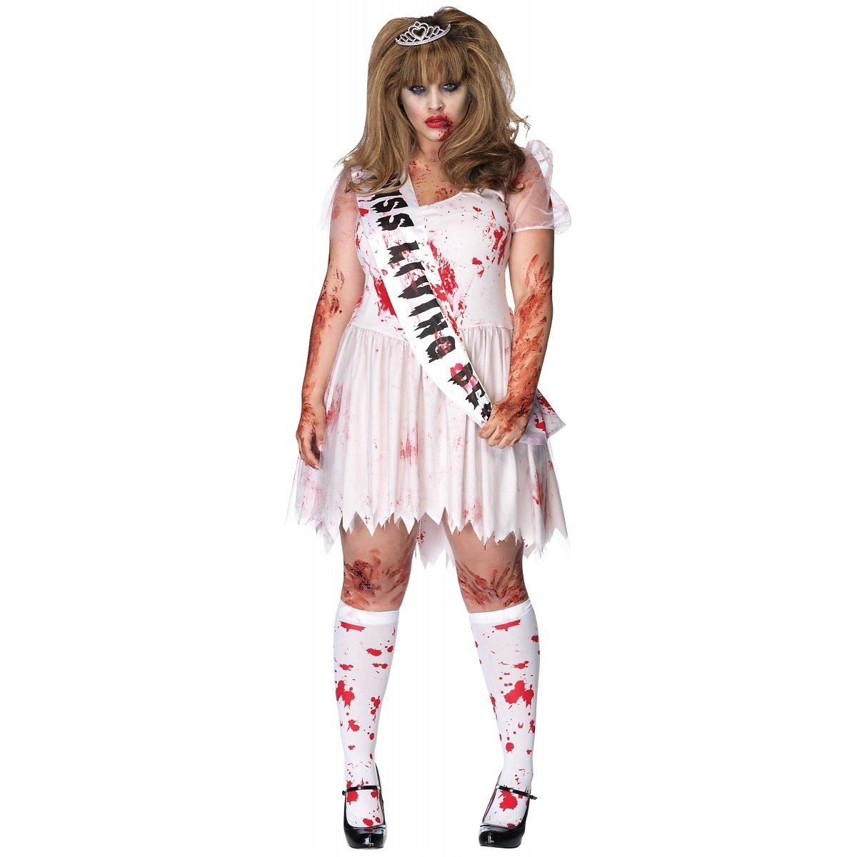 Putrid Prom Queen Adult Costume , Plus Size 1X/2X