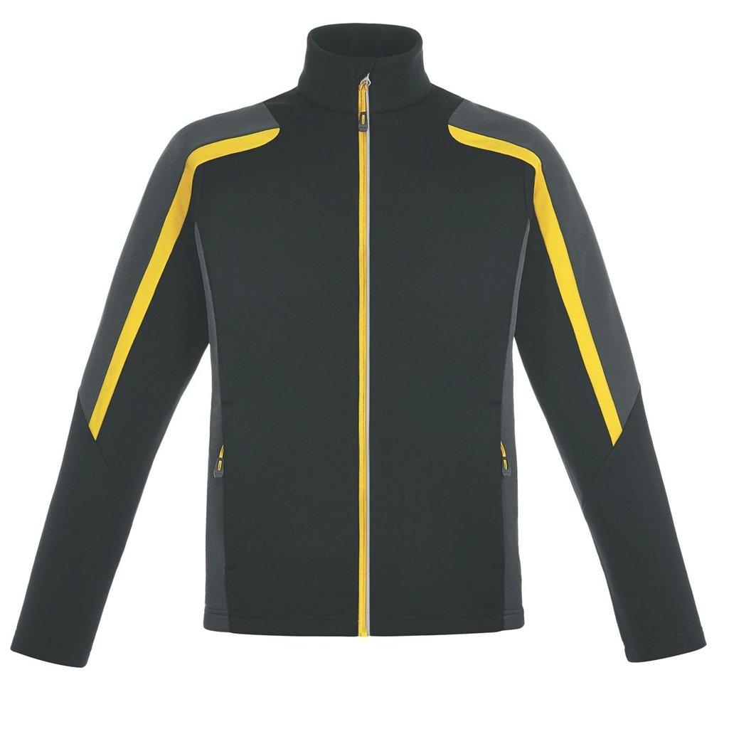 アッシュシティメンズStrikeフリースジャケット B00K03RF0U Black/Carbon/Campus Gold 4L