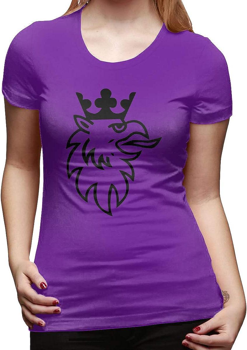 RuiPeng Designed T Shirt Scania Trucks Logo O-Neck Funny Shirt for Ladies Black