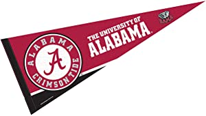 College Flags & Banners Co. Alabama Crimson Tide Pennant Full Size Felt