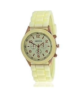 CdyBox Women's Wholesale 10 Assorted Platinum Watch (Cream)