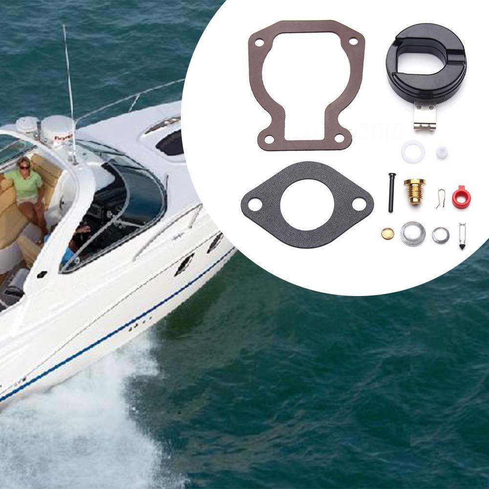 Kit r/éparation carburateur 398453 Carb Outil rechange Pi/èce rechange Entretien Durable Modifier lapprovisionnement en carburant Reconstruire le bateau en m/étal pour Johnson Evinrude