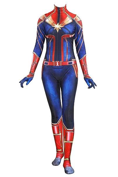 Amazon.com: Piers Spandex Superhero Traje para mujer Cosplay ...