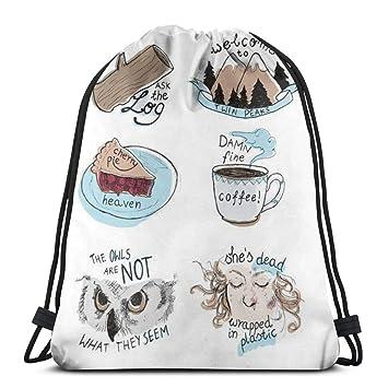 Rainbow Unciorn Swim Drawstring PE Bag School Gym Backpack for Kids UK Salling