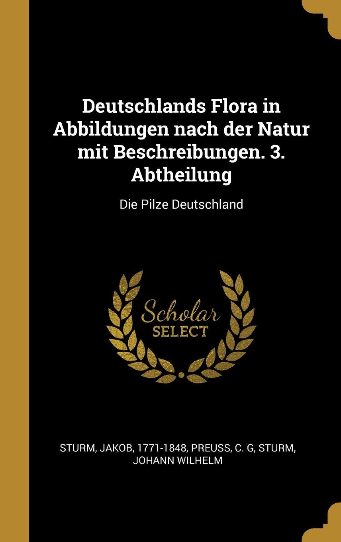 Deutschlands Flora in Abbildungen Nach Der Natur Mit Beschreibungen. 3. Abtheilung: Die Pilze Deutschland