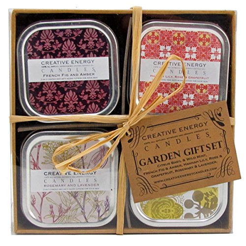 Creative Energy 2 in 1 All Natural Candle and Anti-Aging ...