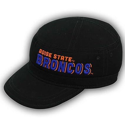 c03da0d6f71 Amazon.com   NCAA Boise State Broncos Adjustable Military Canvas Cap ...