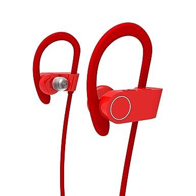 Auriculares Bluetooth 4.1, grave profundo 6.0 CVC, auriculares inalámbricos para deporte,