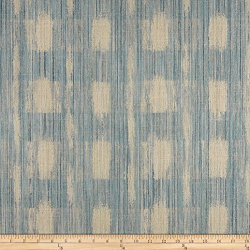 DURALEE HOME Duralee Sophia Check Blue Fabric By The Yard - 10 Duralee Fabric