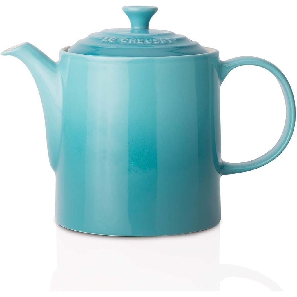 Le Creuset Stoneware Grand Teapot Teal Blue