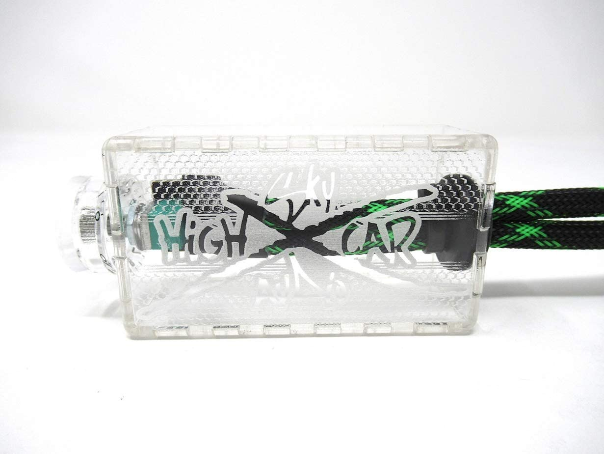 RD//WH//BL SHCA Clear BASS KNOB with Leads