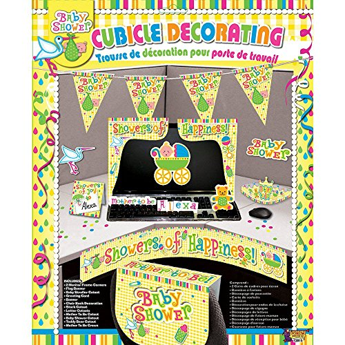 Baby Shower Cubicle Decorating Kit (Each) - Party Supplies (Cubicle Birthday Decorations)