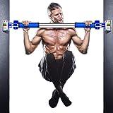 懸垂バー 鉄棒 懸垂棒 けんすいバー 筋力トレーニング 多機能 ドアジム 自宅 筋トレ ドアに鉄棒 、特許滑り止め装置 腹筋 背中トレーニング