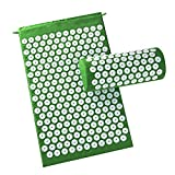 lcfun Acupressure Mat and Pillow Set-Sleep Induction Neck/Back Pain Relief Muscle Relaxation Massage