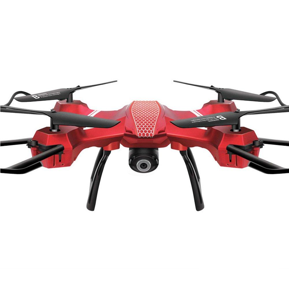 Drone Telecomandato Con Telecamera Aeromobile Intelligente Ad Alta Distanza Aeromobili A Controllo Remoto A Quattro Assi Aeromobile Caduta Pressione Del Drone Fissata,Red