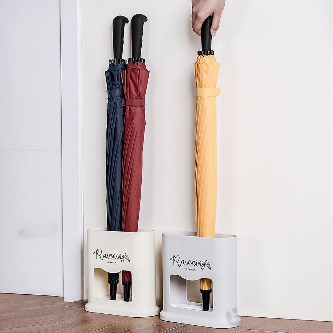 Mitlfuny Anti-Rutsch-Saugnapf Regenschirm Lagerregal//Regenschirm Stand//Regenschirm Lagerregal//Haushalt Regenschirm Eimer Schirmst/äNder Sonnenschirm