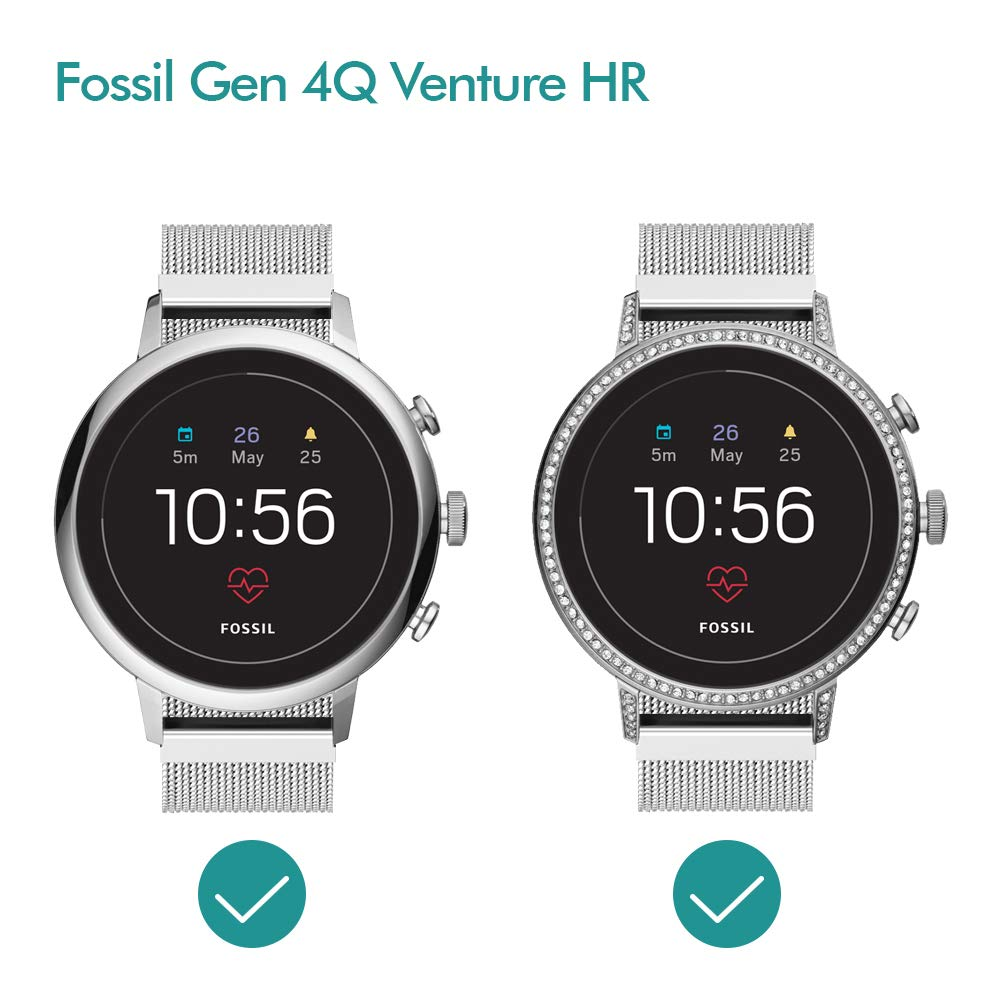 Amazon.com: Smartwatch Band for Fossil Q Venture/Fossil Gen ...