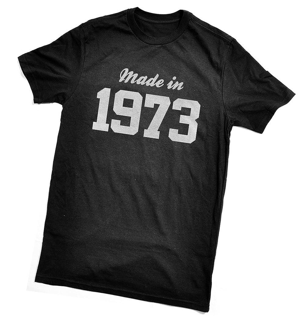Fabricado en T-Camiseta de Manga Corta de 1973 - Fun el ...