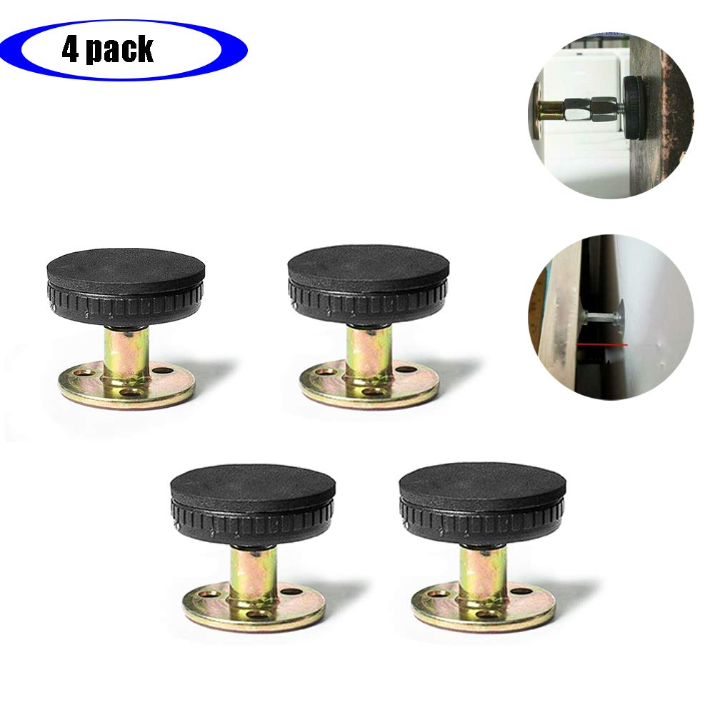 Threaded Bed Frame Adjustable Anti-Shake Tool Allow Your Bed to Be Stationary Without Damaging for Beds Cabinets Chairs Sofas 30-40, 4 Pack by Adounav