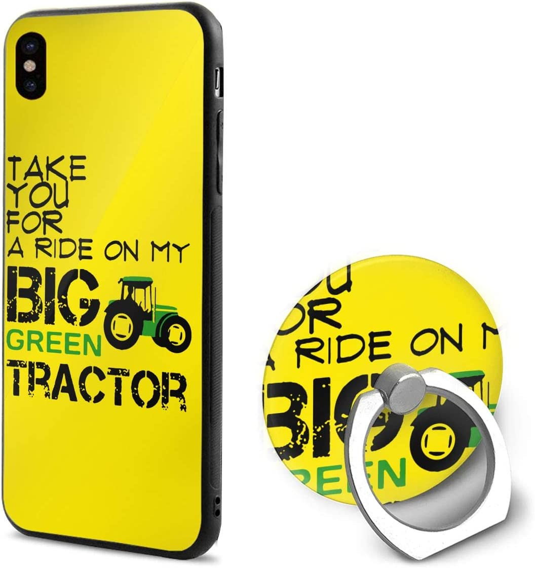 Amazon Com Take You For A Ride On My Big Green Tractor Printed