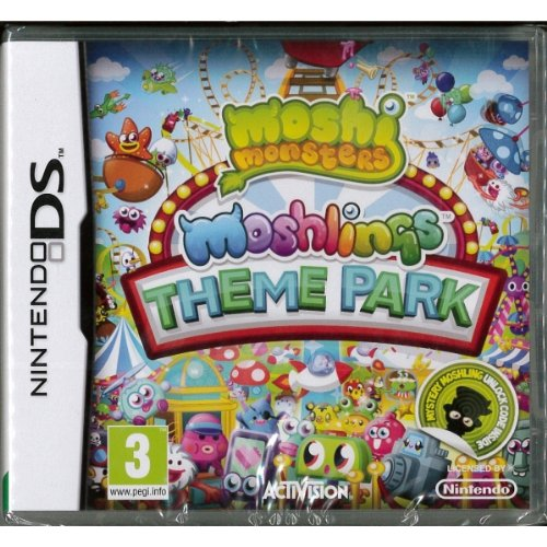 Moshi Monsters Moshlings Theme Park - Nintendo DS (Monster High Game For Ds compare prices)