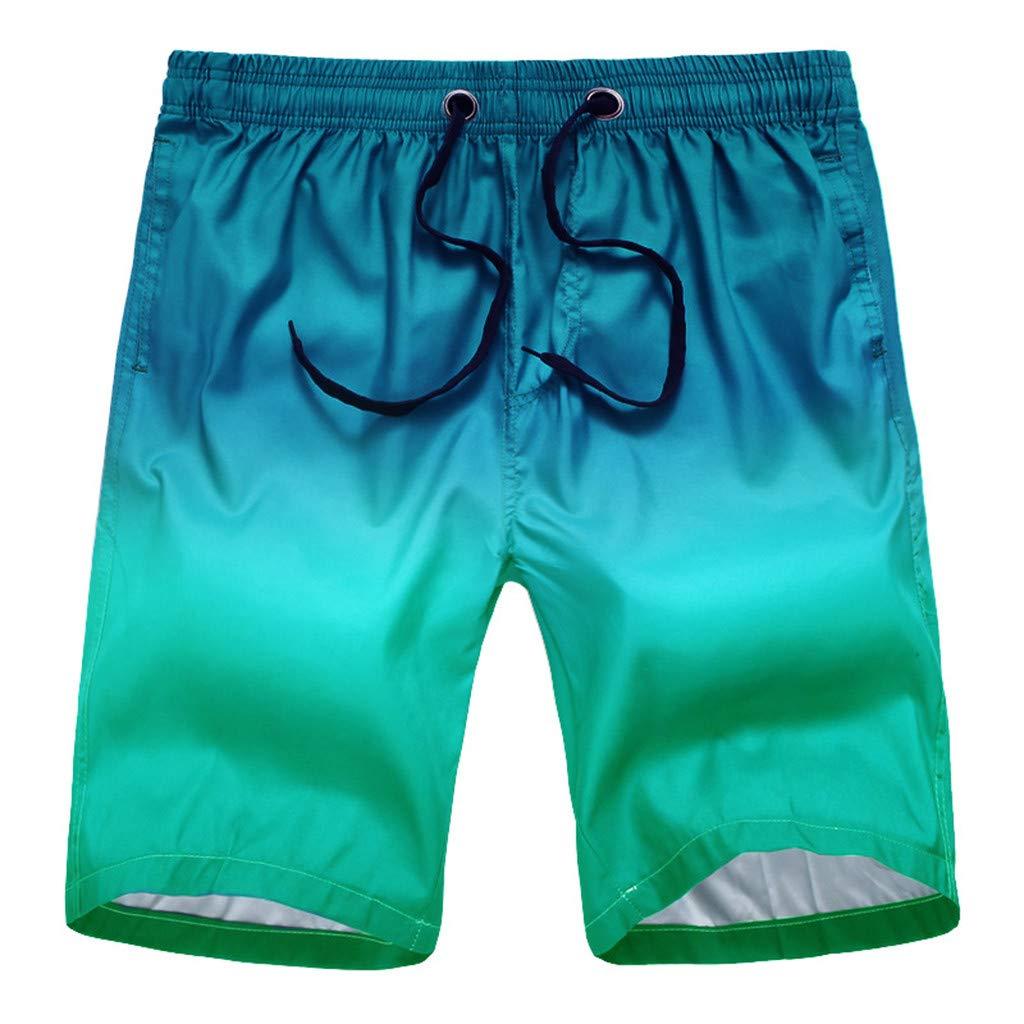 Costume da Bagno Uomo Asciugatura Veloce Pantaloncini Costume da Bagno Uomo Estivi da Uomo Costumi Shorts da Mare Estivi Casuali Multi Tasche da Passeggio Camouflage Pantaloncini da Spiaggia