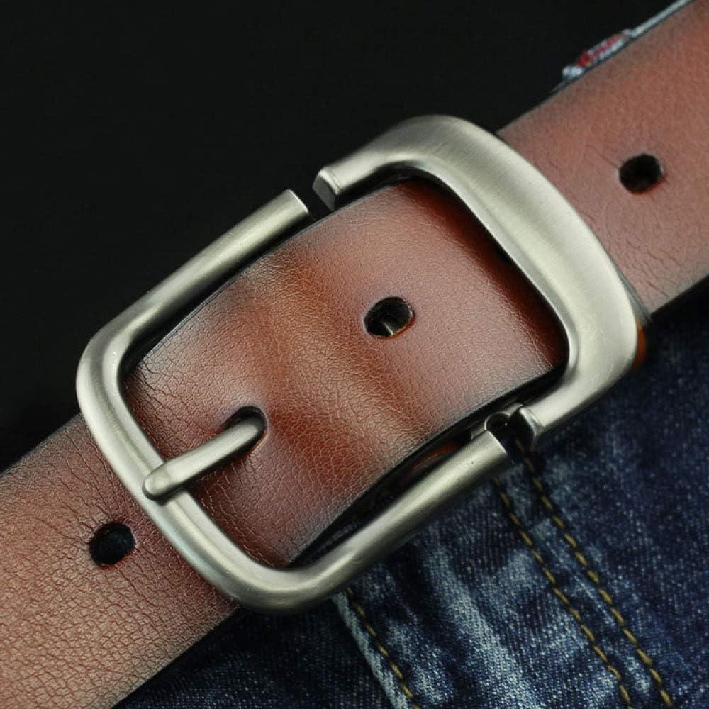 XQY Antique Mens Belt Business Belt Gift Belt Gift Belt,Brown,One Size Casual Youth Male Retro Belt