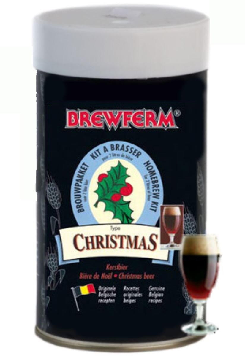 Kit de ingredientes Christmas - Navidad Brewferm Aardvark Homebrew 056.056.5