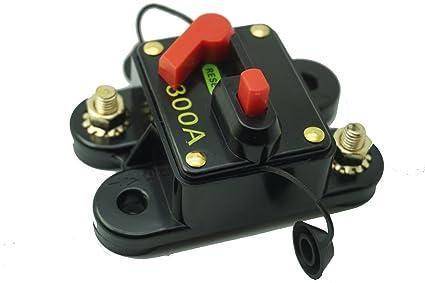 Car Marine 300AMP Waterproof Surface Mount Automatic Reset Circuit Breaker Other Circuit Breakers