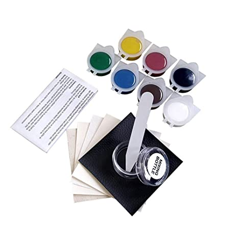 Strange Kobwa Leather And Vinyl Repair Kit Complete Leather Color Restoration Repair Kit Restorer Of Your Couch Car Seats Sofas Handbags Leather Patches Onthecornerstone Fun Painted Chair Ideas Images Onthecornerstoneorg