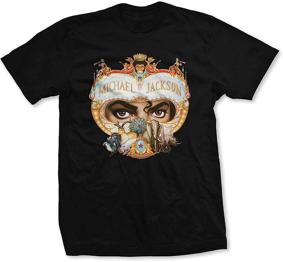Rock Off Michael Jackson Dangerous Oficial Camiseta para Hombre: Amazon.es: Ropa y accesorios