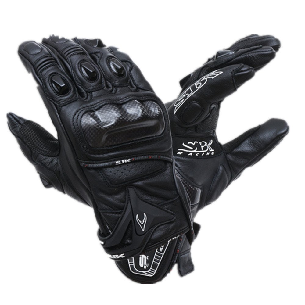 TLMYDD Outdoor Sports Motorcycle Gloves Climbing Hiking Hunting Fishing Gloves, Multiple Colors Gloves (Color : Black, Size : XXL)