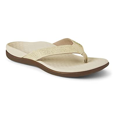 1349a854d07190 Vionic Islander Rhinstone Ladies Toe Post Mule Sandal  Amazon.co.uk  Shoes    Bags