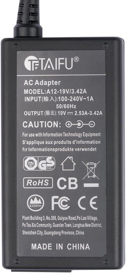 TAIFU Cargador 19V para Samsung UN32J4000 UN32J4000AF UE32J4000AW ...