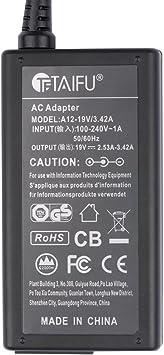 TAIFU Cargador 19V para Samsung UN32J4000 UN32J4000AF UE32J4000AW UN32J400DAF UN32J4000AFXZA UN32J4000AGXZD 32