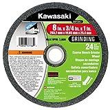 Kawasaki 841547 8-Inch x 3/4-Inch x 1-Inch Coarse Bench Grinding Wheel