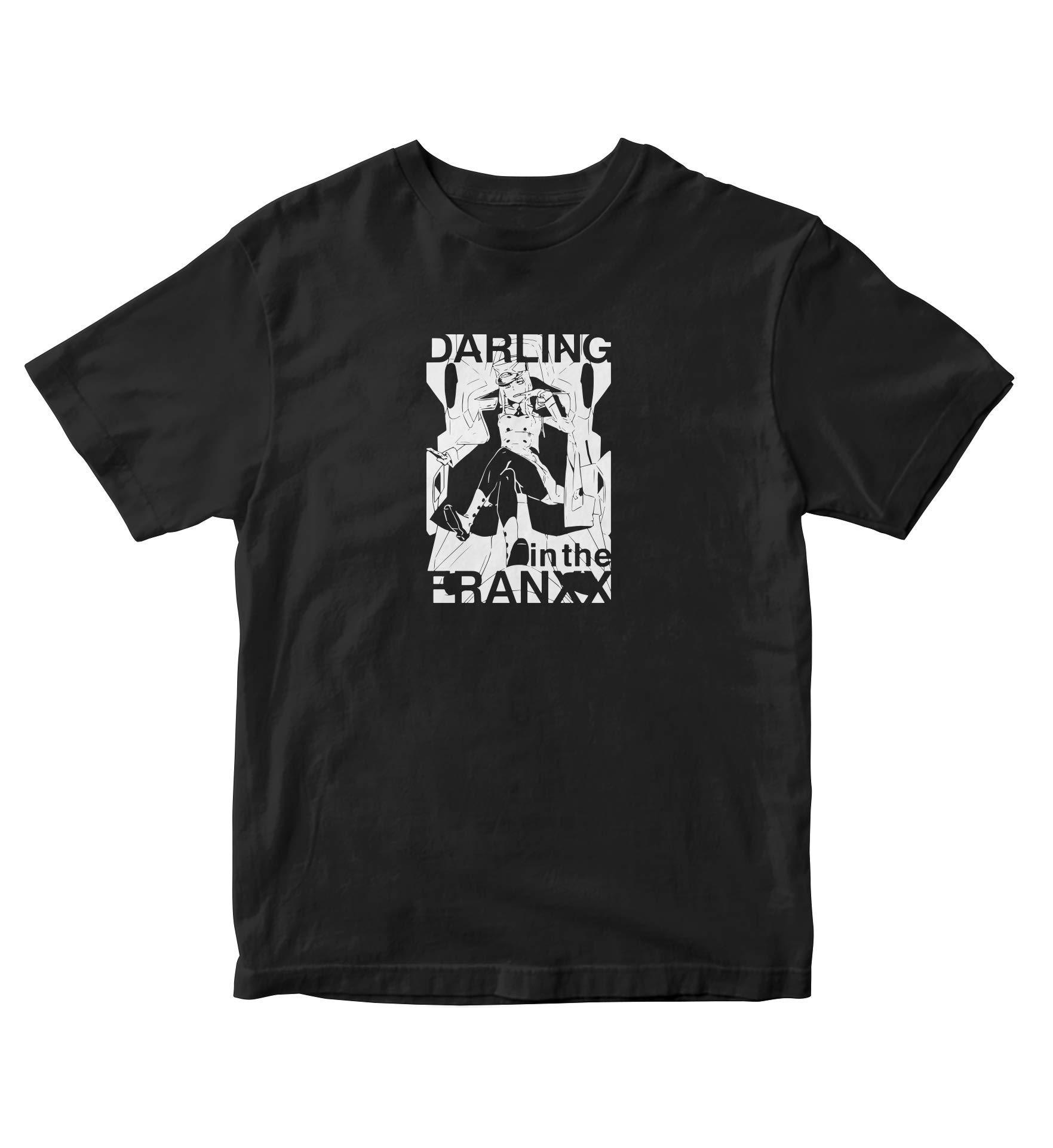 Zero Two Shirt Darling In The Franxx Anime Manga Man S Black A830