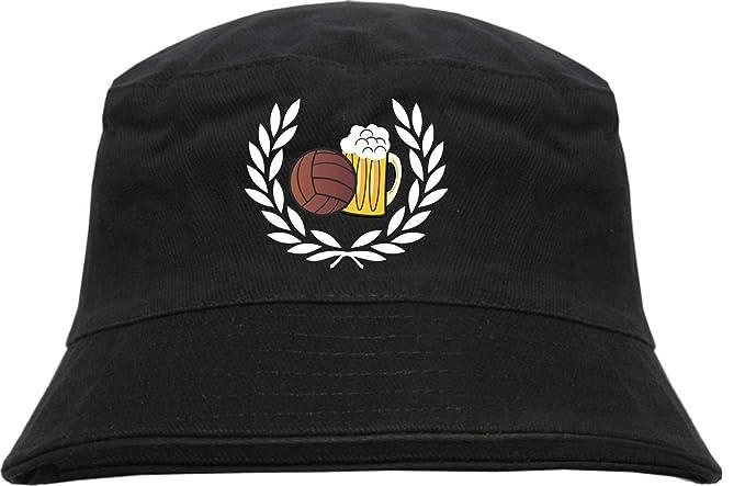 HB Druck Corona De Laurel Fútbol Bier Pescador - Bordado  Amazon.es  Ropa y  accesorios 519305a2c49
