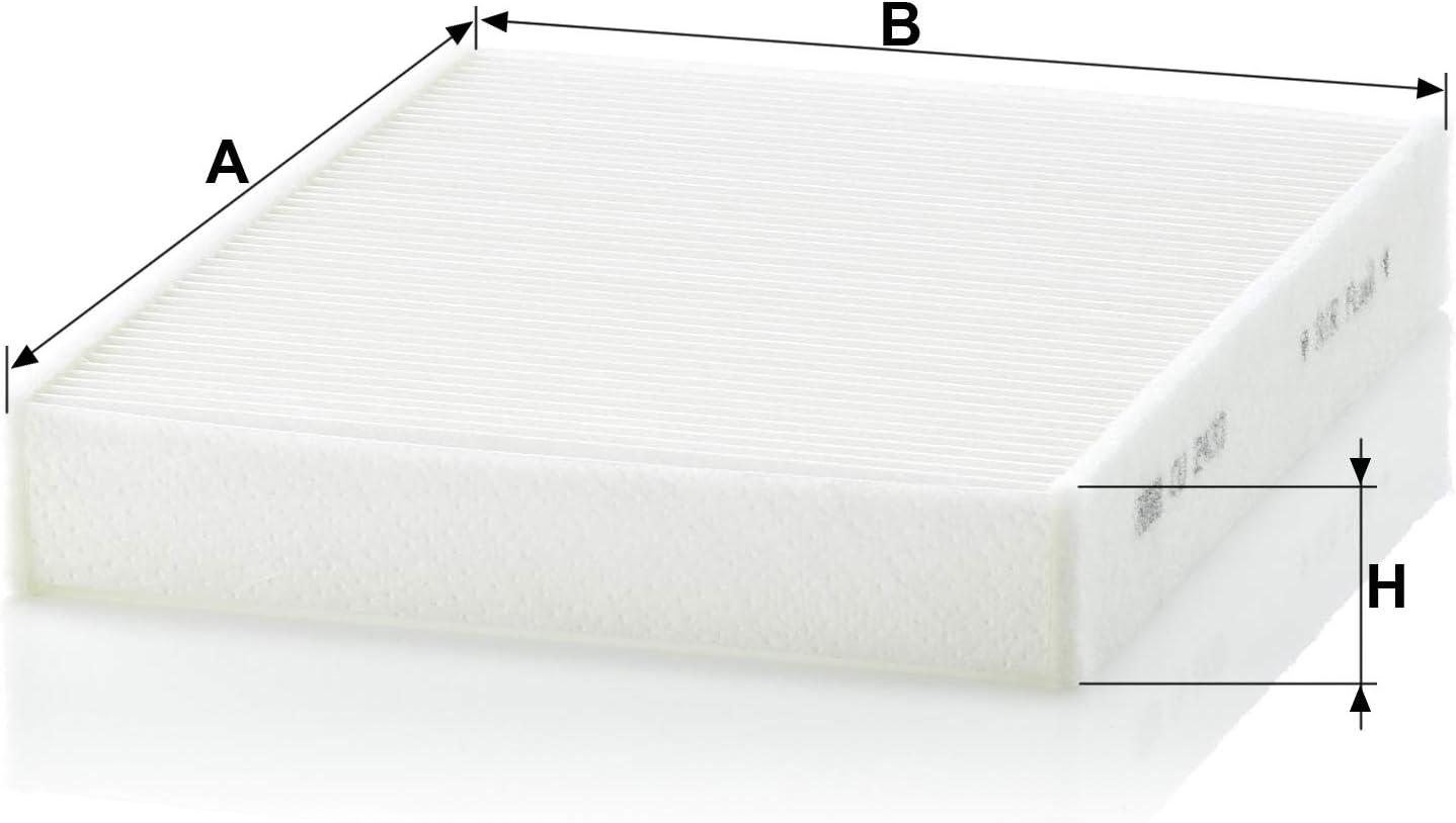 MANN-FILTER CU 2433 Original Filtre dhabitacle Pour v/éhicules particuliers