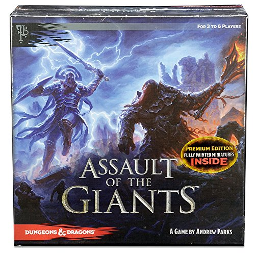 Dungeons & Dragons: Assault of the Giants Board Game Premium Edition ()