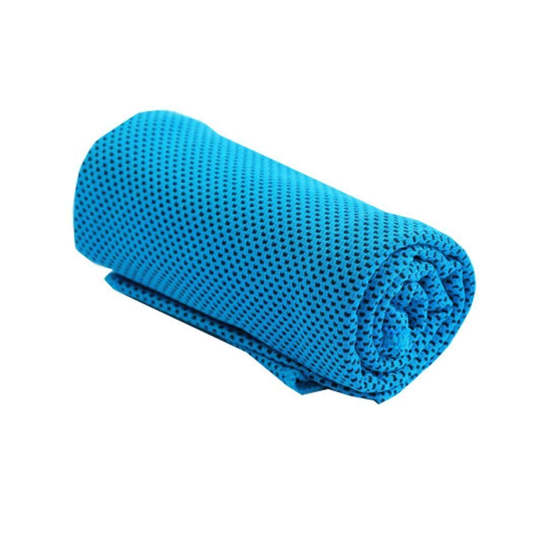 Eroihe Toalla de Enfriamiento Super Absorbente de Secado R/ápido Toalla de Running de Entrenamiento Deportivo