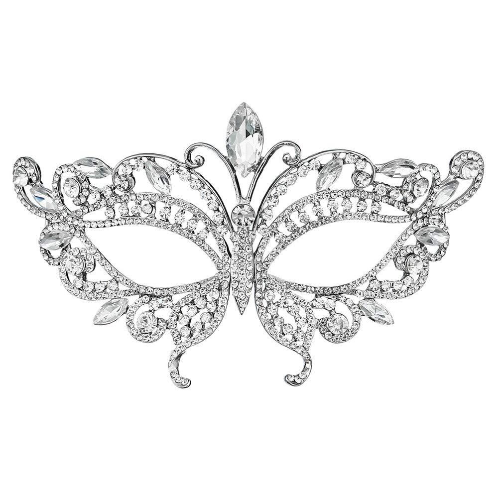 ILYMJ Halloween Prinzessin Diamond Maske europäischen und amerikanischen Party Party Ball Maske Masken